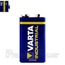 1 x Varta 9V battery Alkaline Industrial 6LR61 E-Block 4022 LR22 PP3 MN1604