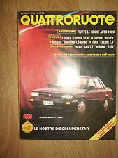 QUATTRORUOTE - N.399 GENNAIO 1989 - NISSAN BLUEBIRD (P2)