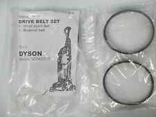 Dyson DC07 DC04 DC14 Clutch model set of 2 belts