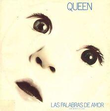 "7"" Queen – Las Palabras De Amor / Cool Cat // Dutch 1982"