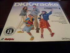 "DK KARAOKE 12"" LASER DISC MULTIPLEX VOL 13 TRADITIONAL TUNES VOL 1 DKC-13 SEALED"