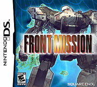 USED Front Mission Nintendo DS Cartridge Only Super Clean