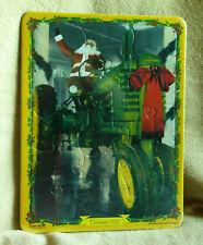 John Deere Tray Puzzle-Santa on Model B Tractor-15 pc