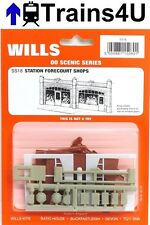 Wills SS18 Station Forecourt Shops (OO Scale)