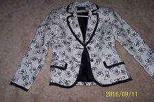 Giancarlo Ferrari Women's Jacket - Size 6 w/ black linning