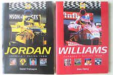 HAYNES FORMULA 1 RACING TEAM JORDAN and WILLIAMS 2 book both 1st ed PB VGC