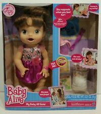 BABY ALIVE My Baby All Gone 2013 HASBRO INTERACTIVE English Spanish SEALED !