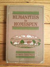 Humanities in Homespun, Chapman Farmer's Advocate Ontario Canada local history