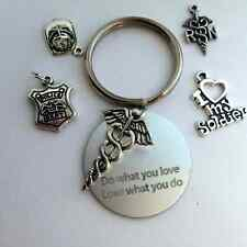 Do what you love, love what you do keychain.  for the professional in your life