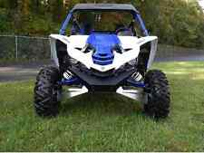 Axiom Side By Side BLACK TEXTURE Yamaha YXZ 1000R Front Bumper and Winch Mount