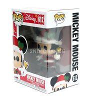 New 2019 Funko Pop Disney Christmas Holiday Mickey Mouse 612 Vinyl Figure