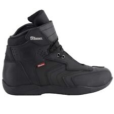 Diora Paddock 2 Lace up Waterproof Short Motorcycle Ankle BOOTS Uk9