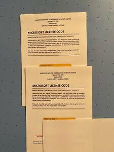Microsoft Windows Server 2019 - 50 Remote Desktop Services Licence Certificate
