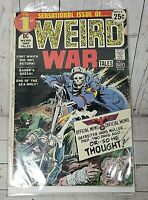 Weird War Tales # 1 White Pages Kubert Nazi Cover & Art DC Comics 1971