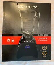 Blendtec Blender with Fourside Plastic Jar, Black Classic 575,  - New