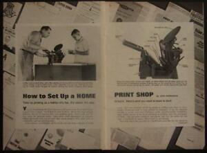 Letterpress Printing Press Basic How-To INFO