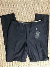 Taglio Luxe Dress Pants Mens 36 X 35 Super Fine Merino Wool 150s NEW Italy