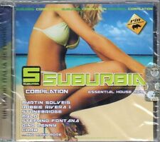 SUBURBIA COMPILATION - ESSENTIAL HOUSE MUSIC - CD (NUOVO SIGILLATO)