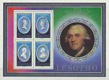 Timbres Personnages Lesotho BF6 ** lot 25151
