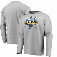 St. Louis Blues Fanatics Men's 2019 Stanley Cup Champs Locker Room Long Sleeve