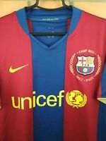 Barcelona Jersey 2007 2008 Home SMALL Shirt 237741-655 Soccer Football Nike