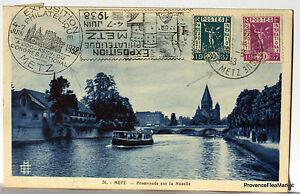 CPA Ausstellung Philatelistisch Metz 1938 266CA46