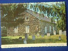Old Stone Church In Susqenita Country Berwick PA, Vintage Color Postcard PC8