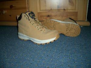 Nike Manoa Leder Stiefel Boots,HAYSTACK-VELVET Brown Beige, Gr.40