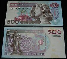 MONACO - Billet 500 Francs - Essai SPECIMEN - NEUF - 2015 - Rare 620 exemplaires