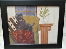 Home Interiors Doggie Darling Scotty Print