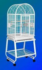 Hq Model 22217C-Parrot Bird Amazon Cockatiel Cage. Platinum Gray.