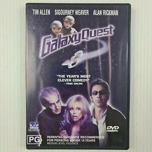 Galaxy Quest DVD Tim Allen, Sigourney Weaver, Alan Rickman - R4 - TRACKED POST