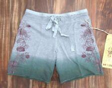 NEW Da Nang Women's Summer Shorts Floral DREAM BLUE FHT50301453 X-SMALL XS