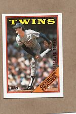2017 topps rediscover buyback card 1988 709 george frazier twins bronze