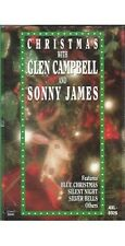 Christmas With Glen Campbell & Sonny James ~ Country ~ Cassette ~ Good