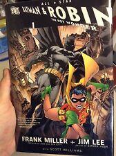 All Star Batman & Robin the boy Wonder Frank Miller and Jim Lee Hc