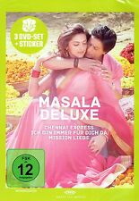 MASALA DELUXE - Bollywood Film 3er DVD-Set  - Chennai Express, Main Hoon Naa