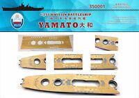 Shipyard 1/350 350001 Wood Deck IJN Yamato for Tamiya 78025