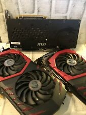 MSI AMD Radeon RX 480 (RX 480 GAMING X 4G) 4GB GDDR5 Lot Of 3 Cards. PLEASE READ