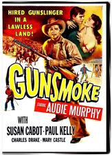 Gunsmoke 1953 DVD - Audie Murphy, Susan Cabot, Paul Kelly