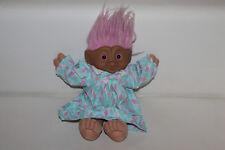 Ace Novelty Troll 1992 Vintage Pierre dans le ventre poupée magique Troll 30 cm RAR