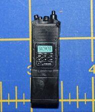 "1:6 Black Walkie-Talkie Handheld Transceiver Radio for 12"" Action Figure C-262"