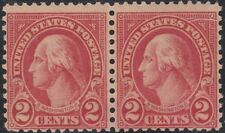 USA Scott #634A 2ct Type VI Pair Mint OG Never Hinged Weiss cert RARE CV $1,350