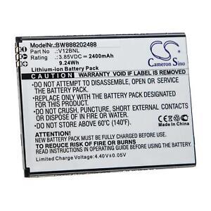 Akku Batterie 2400mAh für WIKO Harry 2, View, W-V600, V12BNL