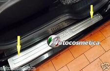 Battitacchi in acciaio protezione soglie- 2PZ DX+SX Smart  Fortwo C 453 DAL 2015