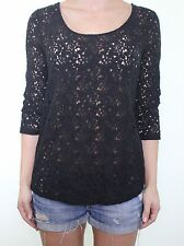 Party Lace Regular Size Blouses for Women
