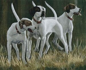 Wall Tapestry - English Pointers 64x78cm aprox size