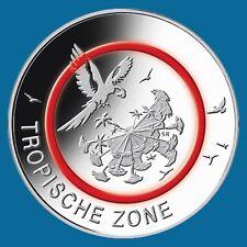 5 Euro Deutschland Tropische Zone*** -G-Karlsruhe ***- Klimazonen der Erde 2017