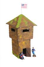 Wild West Fort Soto Wachturm, 3188 zu 7cm Sammelfiguren, Watch Tower, Fertigmod.