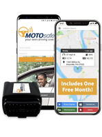 MOTOsafety OBD GPS Car Tracker, Hidden Vehicle Tracker and Monitoring System ...